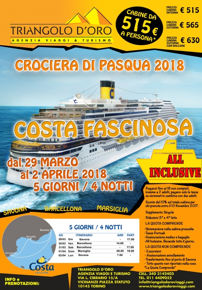 Crociera di Pasqua in All-inclusive